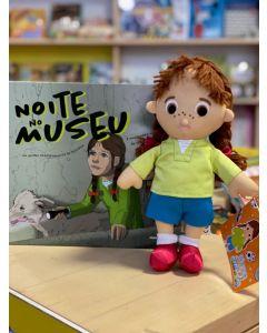 Maria Ciência + Livro Noite no Museu