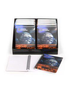 Caderno 3D vista de marte
