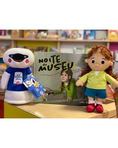 Maria Ciência + Livro Noite no Museu + Robô Viva