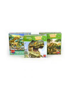 Puzzle 3D Dinossaur