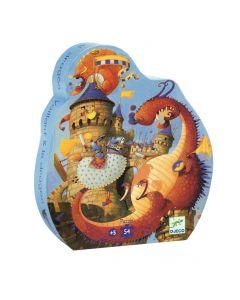 Puzzle - Valente e os dragões