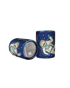 Mini caleidoscópio Space - Astronauta