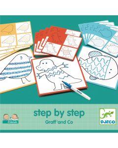 Decorar passo a passo- graff