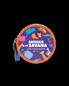 Puzzle Gigante-Animais da Savana