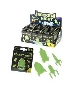Autocolantes Brilhantes Rocket