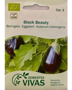 Sementes de Beringela Black Beauty
