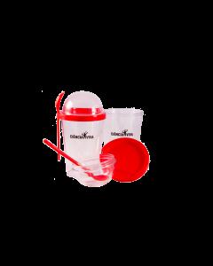 Copo para cereais - Vermelho