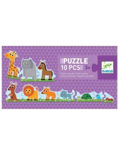 Puzzle Grande a pequeno - 10 peças
