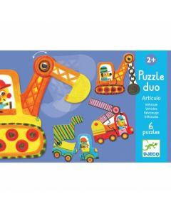 Puzzle Duo Articulo Veículos