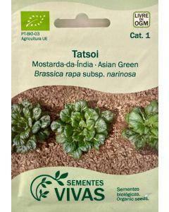 Sementes de Mostarda-da-Índia Tatsoi